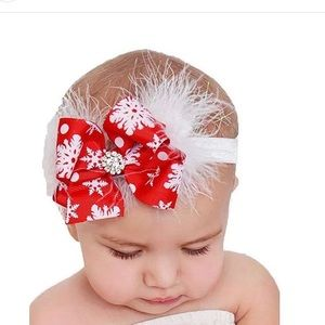 Other - RED & WHITE CHRISTMAS/HOLIDAY HEADBAND